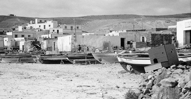 Der Fischerort Morro Jable im Jahr 1965. Foto: WB