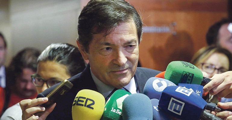 Javier Fernández, Präsident von Asturien. Foto: EFE