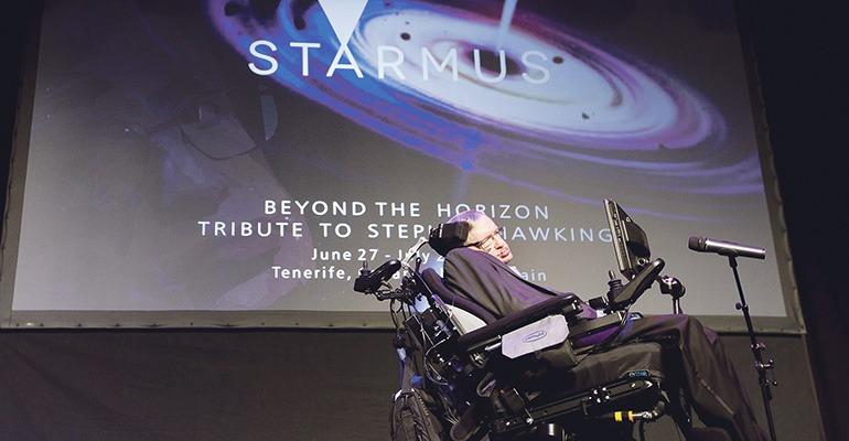 Star-Physiker Stephen Hawking. Foto: EFE