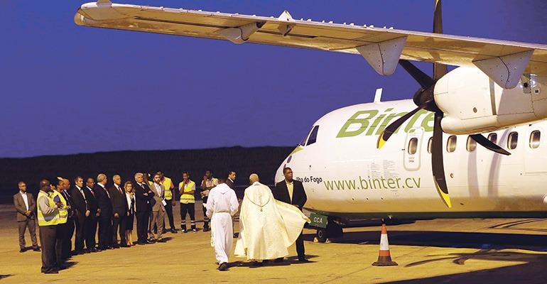 binter cv  die neue airline von kap verde