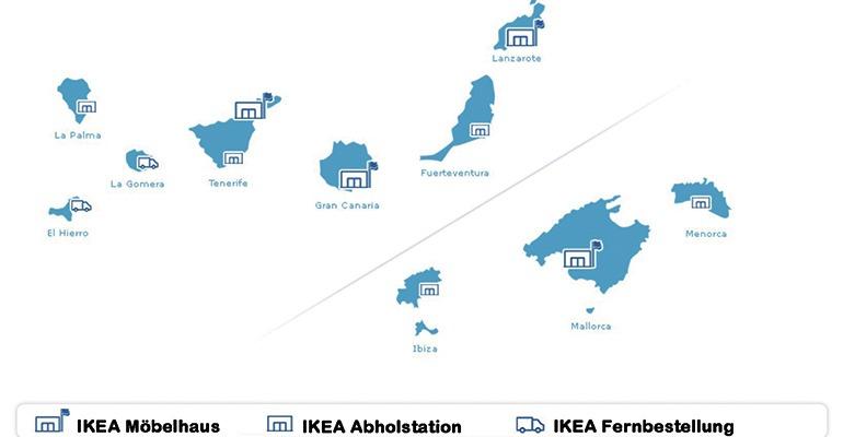 ikea franchise seit 40 jahren auf kanaren und balearen erfolgreich. Black Bedroom Furniture Sets. Home Design Ideas