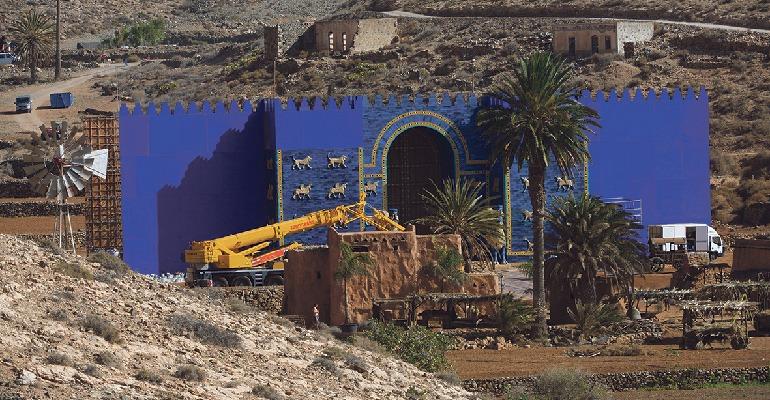 Angelina Jolie auf Fuerteventura