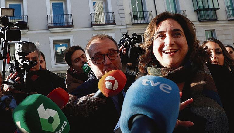 Ada Colau, Bürgermeisterin von Barcelona Foto: EFE