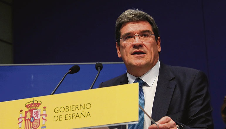 Sozialminister José Luis Escrivá Foto: EFE