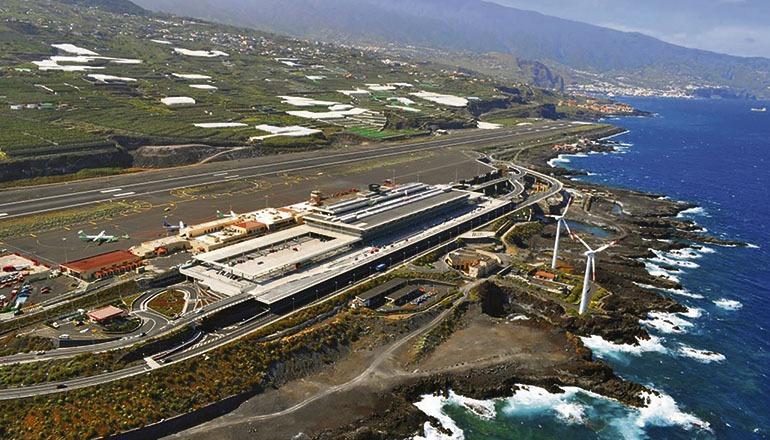 Im vergangenen Jahr wurden auf La Palmas Flughafen 4,5% mehr Fluggäste gezählt. Foto: Fotosaereasdecanarias.com