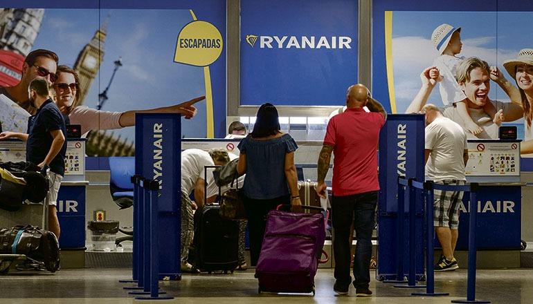 Ryanair hat ihre kanarischen Standorte Teneriffa Süd, Gran Canaria und Lanzarote am 8. Januar aufgegeben. Foto:EFE