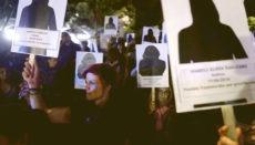 Am Internationalen Tag zur Bekämpfung von Gewalt gegen Frauen, am 25. November letzten Jahres, demonstrierten spanienweit viele Menschen gegen die häusliche Gewalt, die im vergangenen Jahr 55 Frauen und 3 Kinder das Leben kostete. Foto: EFE