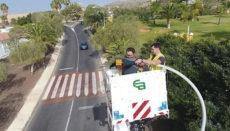 Die Lampen werden nach und nach ausgewechselt. Foto: Ayuntamiento de adeje