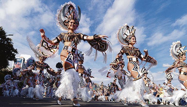 Karnevalszug 2019 in Santa Cruz Foto: EFE