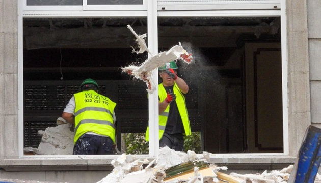 Derzeit wird das Gebäude entrümpelt und entkernt. Foto: MOisés Pérez