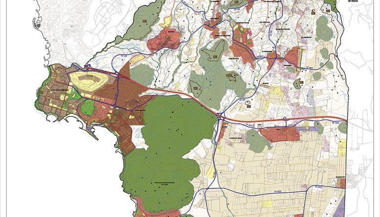 Der Entwurf des PGO kann auf der Website der Gemeindeverwaltung von Arona heruntergeladen werden. Foto: Ayto Arona