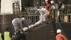 Ein Mann starb kurz vor der Rettung durch die Unisea. Fotos: EFE