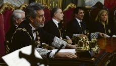 Carlos Lesmes, Präsident des Obersten Gerichtshofes und des Justizgeneralrates Foto: EFE