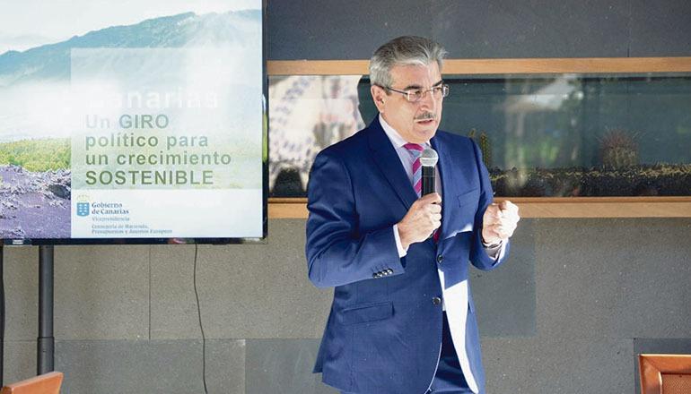 Vizepräsident Rodríguez nahm an einer Gesprächsrunde mit Vertretern des Unternehmerzirkels des Südens teil.