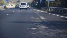 Der Straßenbelag ist an vielen Stellen der Nord- und Südautobahn sanierungsbedürftig. Foto: Moisés Pérez