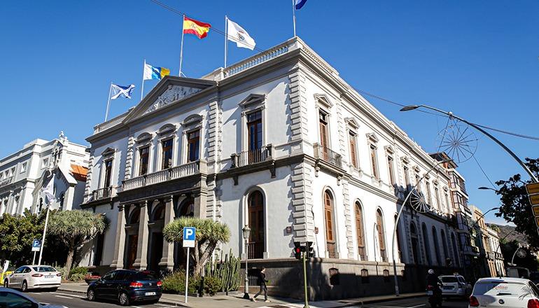 Rathaus von Santa Cruz de Tenerife Foto: Ayuntamiento de Santa Cruz de Tenerife