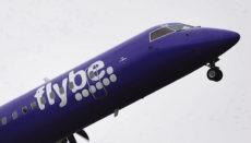 Für die britische Fluggesellschaft Flybe war die Coronavirus-Krise der Auslöser für einen Bankrott, gegen den die Airline schon seit längerem ankämpfte. Foto: EFE