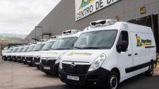 Die Lieferfahrzeuge von HiperDino bringen Bestellungen ins Haus. Foto: HiperDino