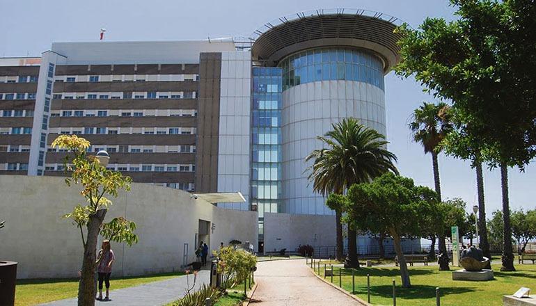 Das Universitätskrankenhaus HUC in La Laguna Foto: Gobierno de Canarias