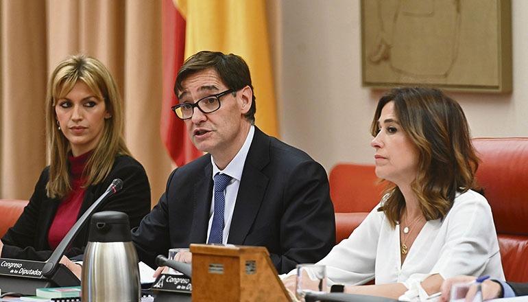 Gesundheitsminister Salvador Illa Foto: EFE