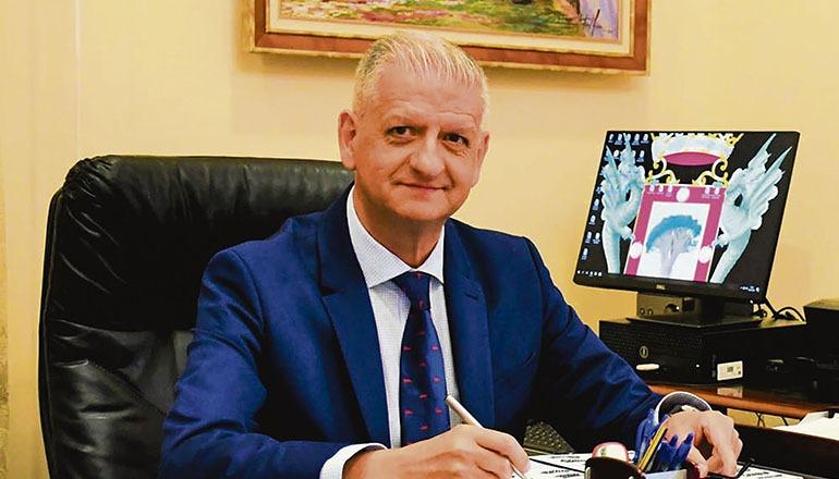 La Orotavas Bürgermeister Francisco Linares Foto: Ayuntamiento de la orotava