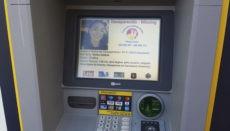 Ein Geldautomat in Puerto de la Cruz zeigt die Vermisstenanzeige der 19-Jährigen Wafaa Sabbah, die am 17. November 2019 in Carcaixent in Valencia verschwand. Foto: WB