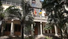 Der Sitz des Kanarischen Obersten Gerichtshofs in Santa Cruz auf Teneriffa Foto: EFE