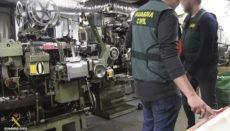 Sechs urkainische Helfer lebten und arbeiteten in der unterirdischen Fabrik. Foto: EFE
