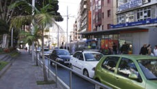 Straßenverkehr in Santa Cruz Foto: WB