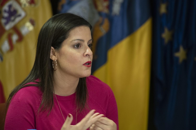 Die Leiterin des kanarischen Tourismusressorts, Yaiza Castilla Crédito: Gobierno de Canarias