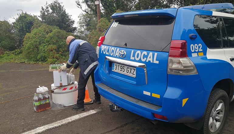 Verteilung von Lebensmitteln in Anaga Foto: Ayuntamiento de Santa Cruz de Tenerife