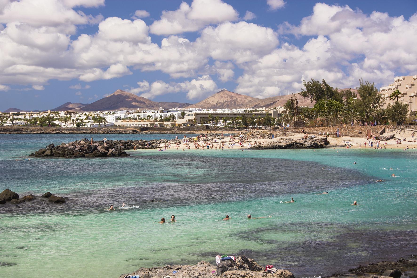 Playa del Jablillo Costa Teguise CANARY ISLANDS