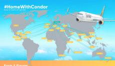 Condor brachte als Teil der Luftbrücke des Auswärtigen Amts Tausende deutsche Urlauber aus aller Welt nach Hause. Foto: condor