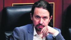 Podemos-Chef Iglesias Foto: EFE