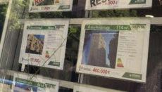Die Preise auf dem Immobilienmarkt bewegen sich leicht nach unten. Foto: EFE
