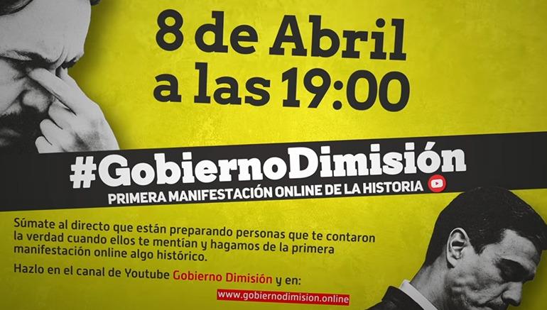 Der Aufruf zur Online-Demonstration auf Youtube Foto: WB