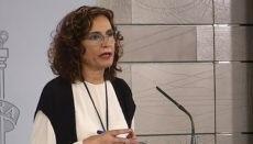 María Jesús Montero. Foto EFE