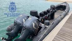 Narco Schlauchboot Guadalquivir POL NACIONAL