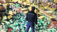 Die Polizei hat in Galicien gestohlenes Sanitätsmaterial im Wert von fünf Millionen Euro beschlagnahmt und den mutmaßlich Verantwortlichen dingfest gemacht. Foto EFE