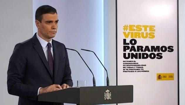 Regierungschef Pedro Sánchez gab in einer telematischen Pressekonferenz die nächsten Schritte der Lockerung der Ausgangssperre bekannt. Foto: EFE