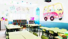 Schulhöfe und Klassenzimmer sind seit mehr als vier Wochen verwaist. Nach den Osterferien geht der digitale Unterricht für Schülerinnen und Schüler in Spanien vorerst auf unbestimmte Zeit weiter. Foto: efe