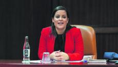 """Die kanarische Tourismusministerin Yaiza Castilla rechnet nicht mit einer """"Normalisierung"""" der Tourismusbranche vor einem Zeitraum von 18 Monaten. Foto: Gobierno de Canarias"""