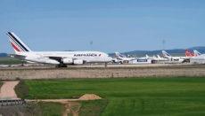 In Teruel stehen zahlreiche Passagierjumbos großer internationaler Fluggesellschaften wie der Air France, Lufthansa oder British Airways. Foto: EFE