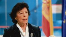 Bildungsministerin Isabel Celaá Foto: EFE