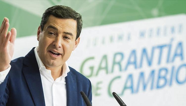 Juan Manuel Moreno, Präsident der Regionalregierung von Andalusien Foto: EFE