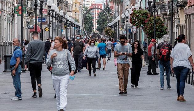 In der Fußgängerzone von Triana herrschte am 11. Mai großer Andrang. Foto: EFE