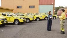Die neuen Brifor-Einsatzfahrzeuge sind klein und wendig. Foto: Cabildo de Tenerife