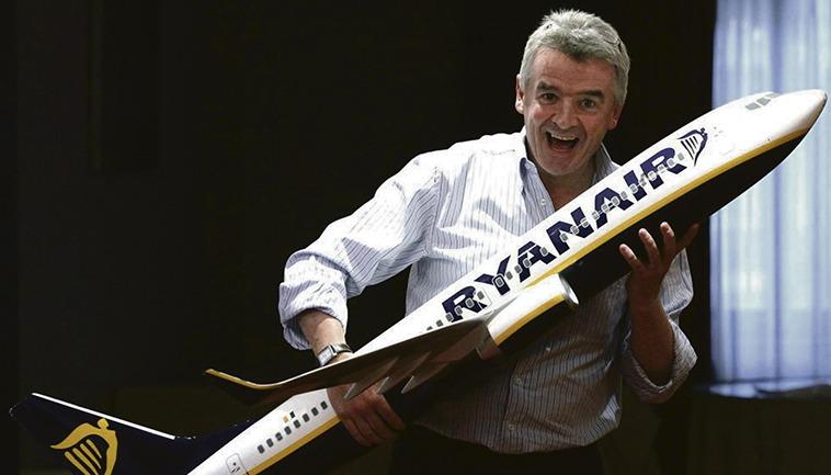 Michael O'Leary wehrt sich gegen die Vorgabe, Plätze in den Flugzeugen freizuhalten, um mehr Abstand zu schaffen.