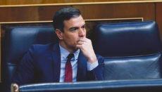 Präsident Pedro Sánchez scheiterte mit dem Versuch, den Alarmzustand um einen vollen Monat zu verlängern. Foto: EFE