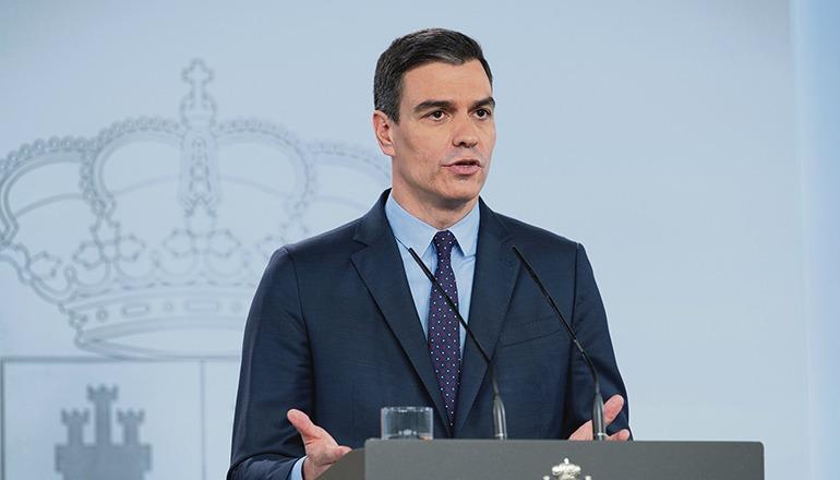 Präsident Pedro Sánchez Foto: EFE